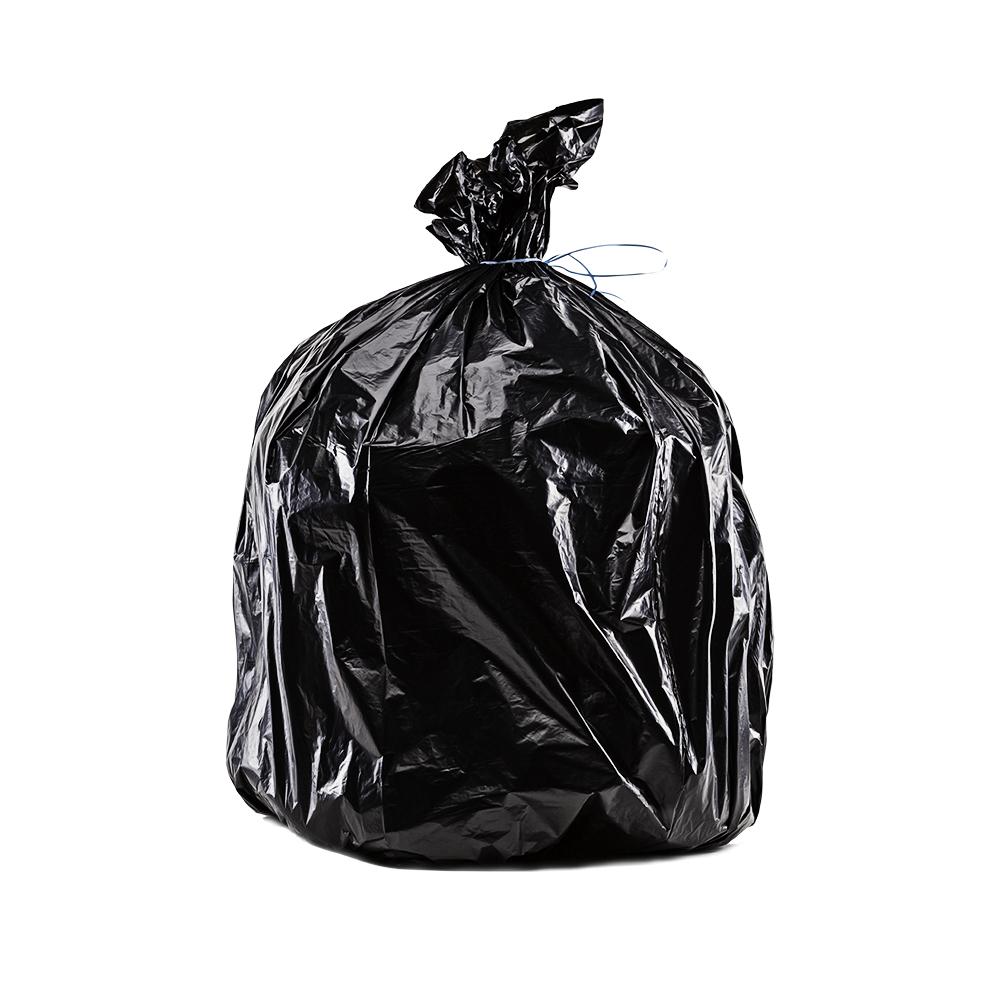 sac poubelle 100l noir pehd oxedis. Black Bedroom Furniture Sets. Home Design Ideas